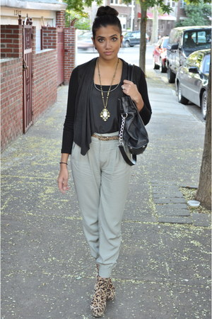 dark khaki asos pants
