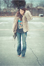 Lita-jeffrey-campbell-boots-fur-vintage-coat-william-rast-jeans-rebecca-mi