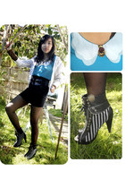 rose ring Equip ring - zipper striped parisian junior boots - 83 Girl shirt