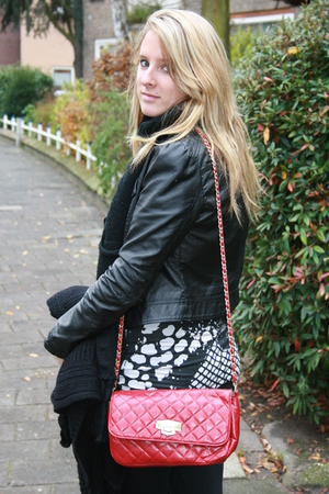 Primark purse - H&M jacket - H&M dress