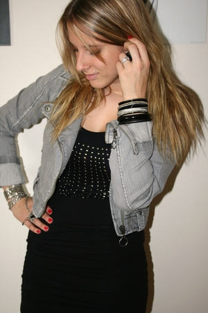 Vero Moda jacket - H&M skirt - noname shirt