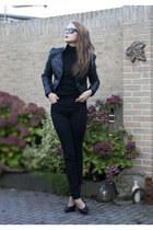 H&M jeans - H&M jacket - H&M blouse