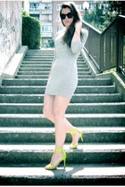 neon shoes - dress