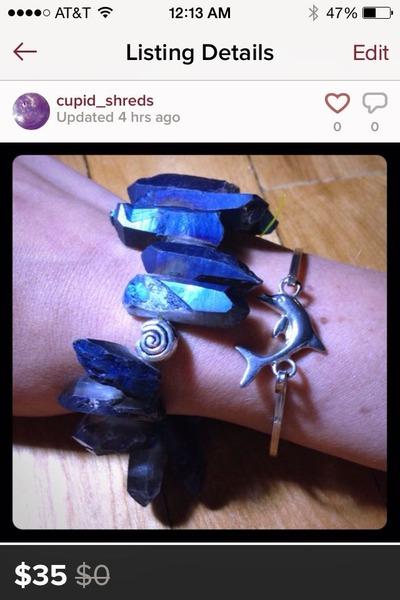 blue blue quartz Accessorize accessories