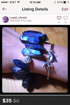 blue blue quartz Accessorize accessories