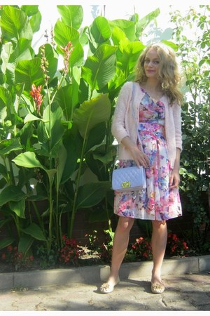 periwinkle Orsay dress