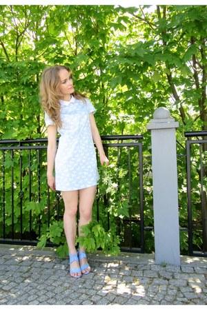 wojas shoes - light blue Mohito dress