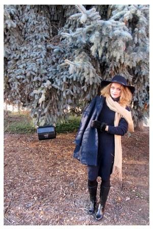 Top Secret dress - reserved coat - Top Secret hat - Orsay bag