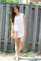 Forever 21 dress - Chloe bag - Guess shoes