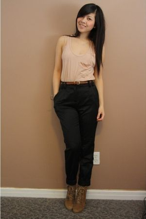 wilfred belt - wilfred bra - wilfred top - H&amp;M pants - Zara shoes