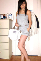 forever 21 shorts - wilfred belt - Mango purse