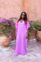 bubble gum kaftan homemade dress