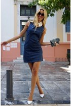 Louis Vuitton bag - Zara heels