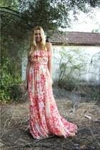 roberto cavalli dress - Sonia Rykiel sandals
