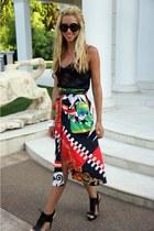 Zara heels - Moschino skirt