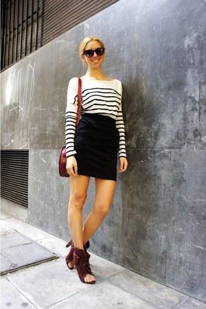 Alexander Wang boots - Bershka dress - asos sunglasses