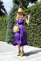H&M dress - vintage hat