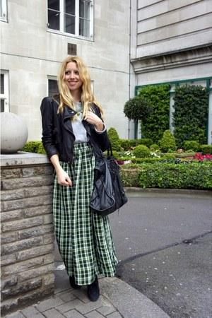 Zara boots - Zara jacket - balenciaga bag