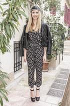 Zara jacket - Primark romper - Zara heels