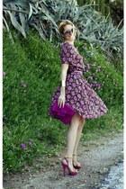 vintage dress - Kitson heels