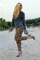 Motel pants - Zara heels