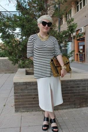 asos skirt - T-by Alexander Wang shirt - 31 Phillip Lim bag