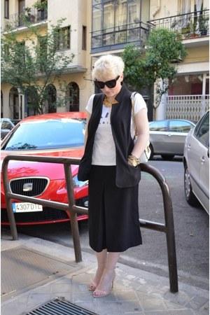 Marquis vest - Alexander Wang bag - Zara sandals - Zara pants