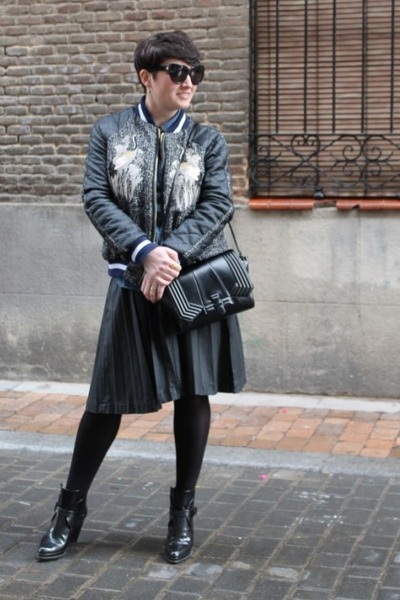 Three Floor jacket - Zara boots - Zara bag - Uterque skirt