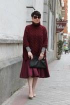 karen millen shirt - Mischa Barton bag - Salvatore Ferragamo sunglasses