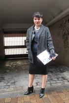 H&M jacket - Zara boots - Mango coat - MMM for H&M bag - Zara Trf jumper