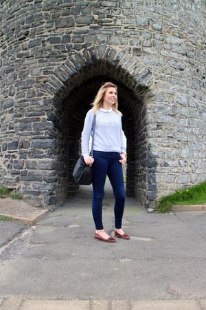 pretty slogan Topshop jumper - leigh jeans Topshop jeans