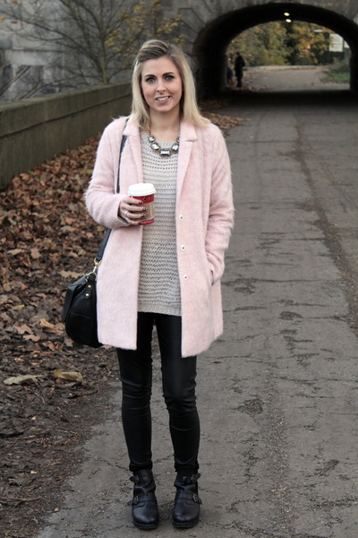 Pink Boyfriend Topshop Coats Knitted Topshop Jumpers | &quotWeekend