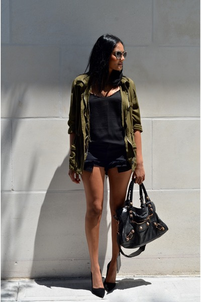 army green reckless girls jacket