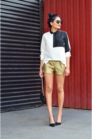 black Indelust shorts