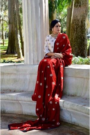 brick red Indelust dress