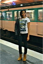white les fraudeurs paris t-shirt