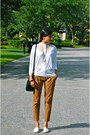 Black-red-valentino-bag-white-morgan-de-toi-top-bronze-zara-pants