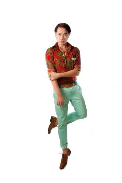 lime green Topman pants