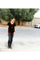 black iconic shirt