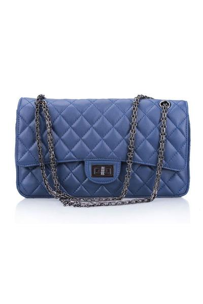 Vivilli Check Pattern Chain Strap Shoulder Bag 55