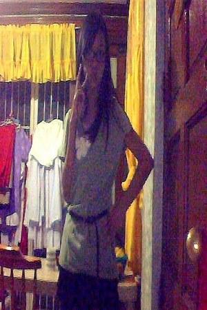 genievive gozum belt - lace genevieve gozum skirt - merona blouse