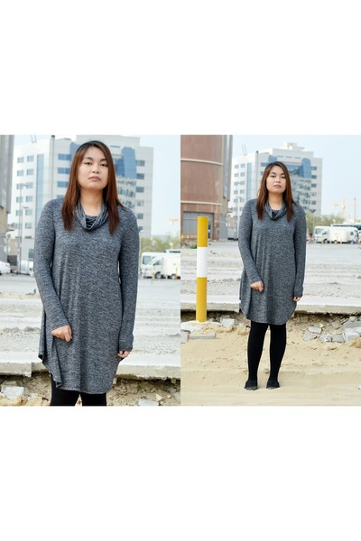 turtleneck Sheinside dress