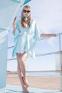 Sky Blue Kaftan Dress Alyssa Nicole Dresses