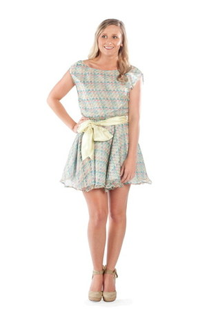 sky blue Alyssa Nicole dress