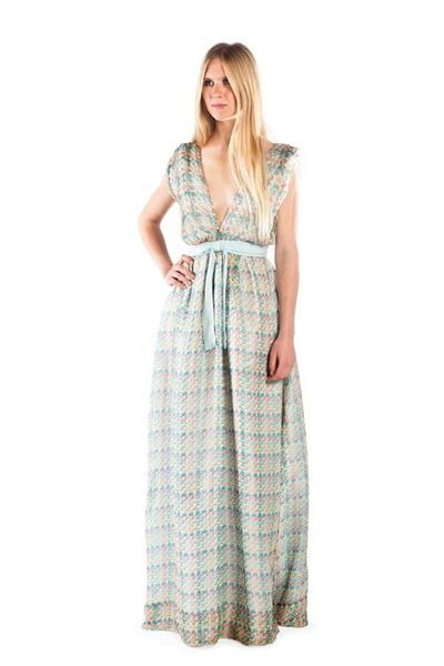 sky blue Alyssa Nicole dress