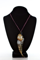 Maroon Alyssa Nicole Necklaces