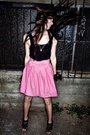 Pink-alyssa-nicole-collection-skirt-black-alyssa-nicole-collection-top