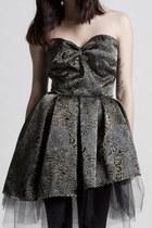 black Alyssa Nicole dress