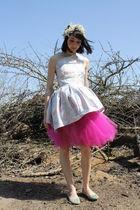 pink one shoulder Alyssa Nicole dress
