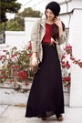 Black-maxi-skirt-alyssa-nicole-skirt-black-handmade-hat